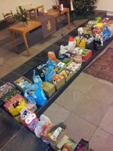inzameling voedselbank 2014