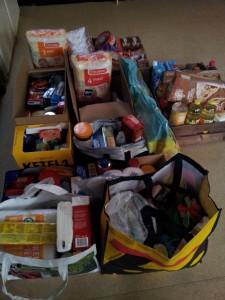 actie voedselbank Noordbroek 12 december 2015